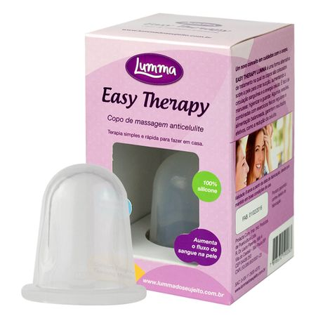 Ventosa para Massagem Modeladora Easy therapy Lumma - Médio - 1 Un