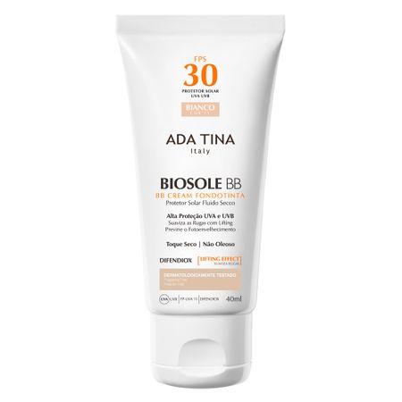 Protetor Solar Ada Tina - Biosole BB Cream FPS 30 - Bianco