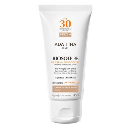 Protetor Solar Ada Tina - Biosole BB Cream FPS 30 - Vaniglia