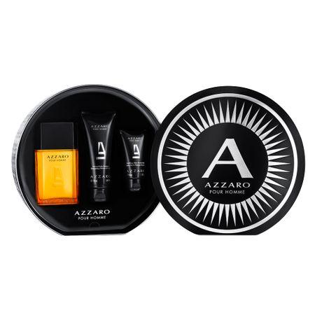 Azzaro Pour Homme Azzaro Kit - Eau de Toilette  + Shampoo para Corpo e Cabelo +...