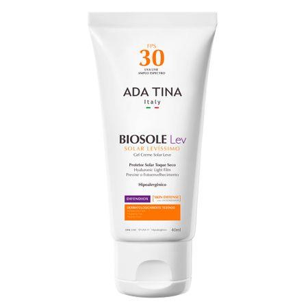 Protetor Solar Ada Tina - Biosole Lev FPS 30 - 40ml