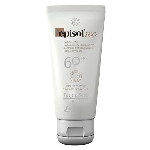 Protetor Solar Facial Fps 60 Episol Sec - Época Cosméticos 9f413158f3