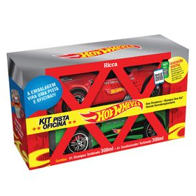 ricca-hot-wheels-pista-oficina-kit-shampoo-condicionador