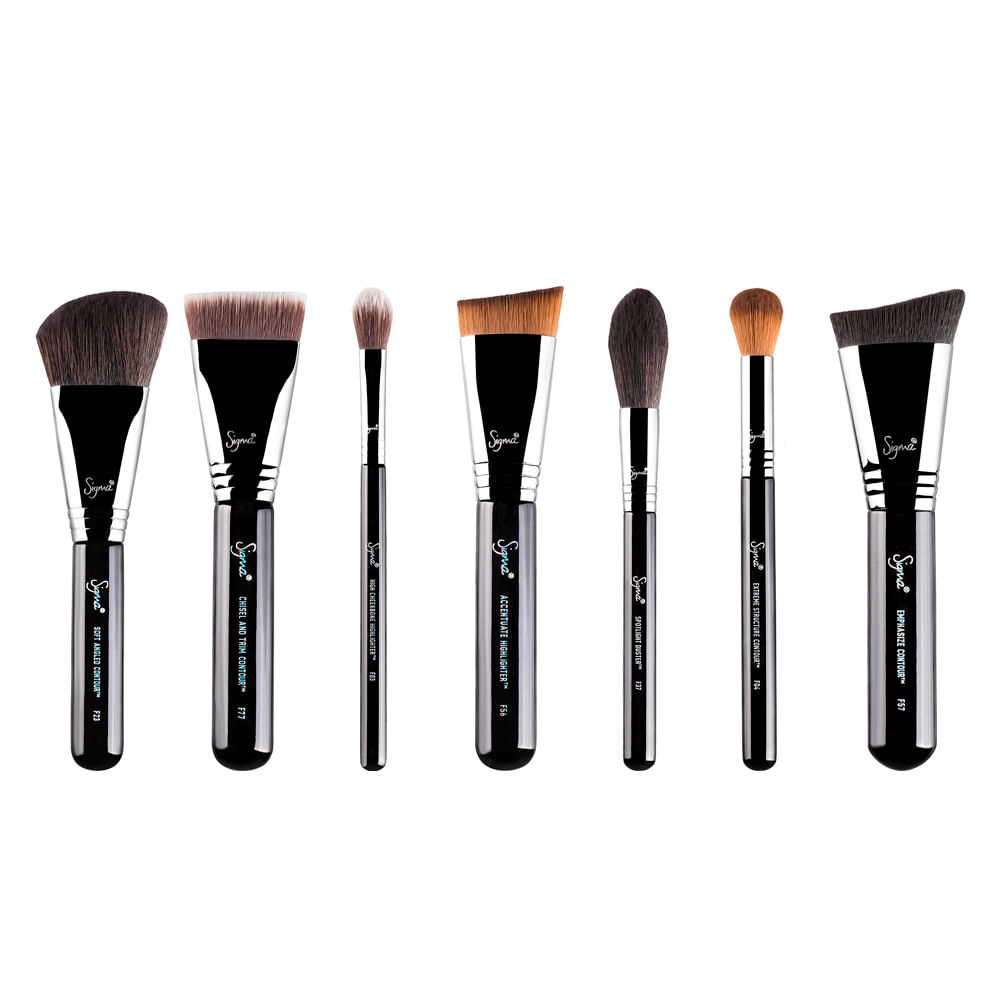 Kit Sigma Beauty Highlight and Contour Brush - Pincéis - Época ... 9cabcfeea0