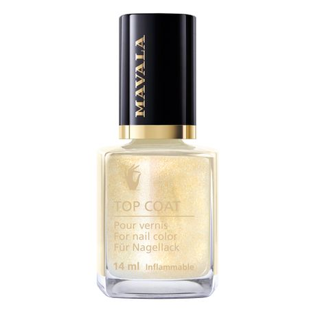 Star Top Coat Mavala - Cobertura Brilhante - Gold