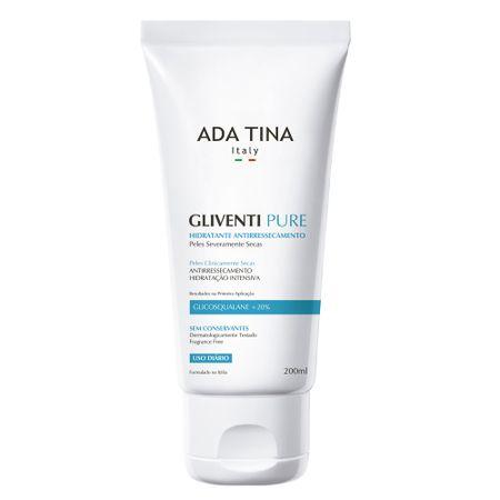 Gliventi Pure Ada Tina - Hidratante Antirressecamento - 200ml
