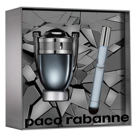 Paco Rabanne Invictus Intense Kit - EDT 50ml + Travel Size - Kit