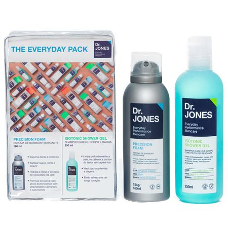 The Everyday Pack Dr.Jones - Precision Foam + Isotonic Shower Gel - Kit - Kit