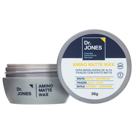 Dr. Jones Amino Matte Wax - Cera Modeladora - 60g