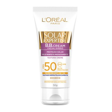 Solar Expertise BB Cream FPS50 L'oréal Paris - Protetor Solar - Natural
