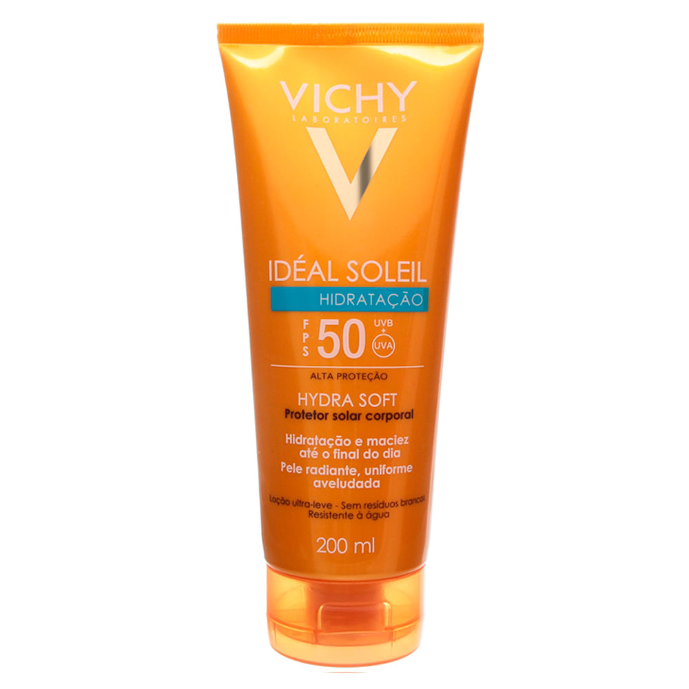 Idéal Soleil FPS 50 Hidratação Vichy - Protetor Solar Corporal