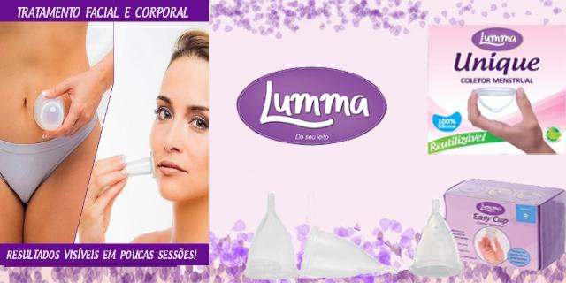 0f19a2054 Em 2016 foi lançada no mercado a marca Lumma de produtos para o bem-estar  da mulher