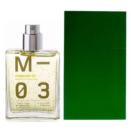 Escentric Molecules Molecule 03 + Caixa de Alumínio Verde Musgo Kit - Perfume +...