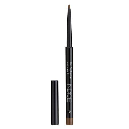 Delineador Indice Tokyo - Slim Gel Eyeliner - 02 Brown