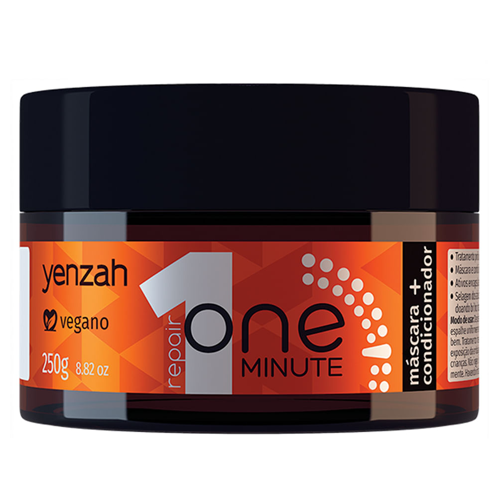 Máscara-Condicionador Yenzah One Minute 250g
