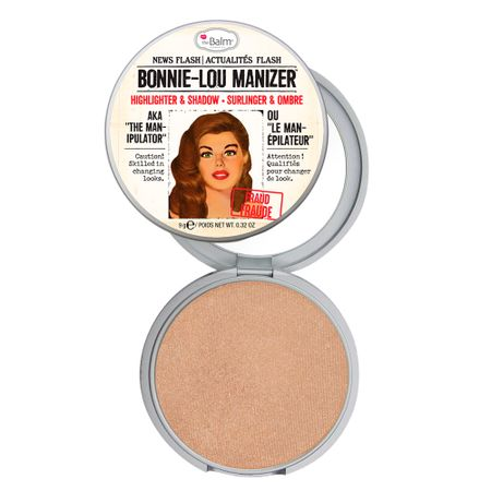 Bonnie Lou Manizer The Balm - Iluminador Facial - Dourado