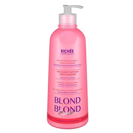 Richée Professional Blond Platinum - Matizador Condicionante - 500ml