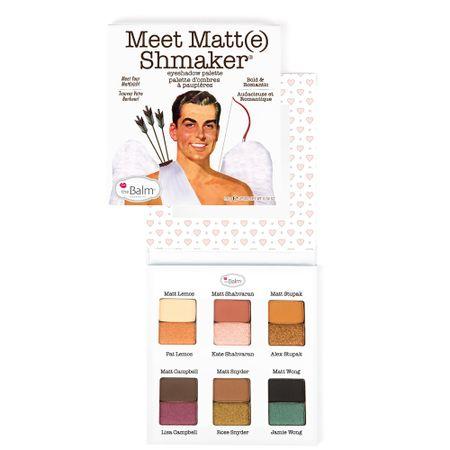 Meet Matt(e) Shmaker The Balm - Paleta de Sombras - 1 Un