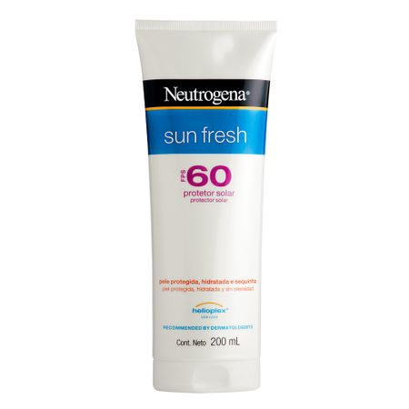 Protetor Solar Neutrogena Sun Fresh FPS60 - 200ml