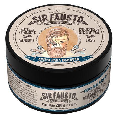 Creme de Barbear Sir Fausto - 200ml