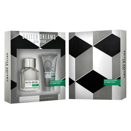 Benetton United Dreams Aim High Kit - Eau de Toilette + Pós-Barba - Kit