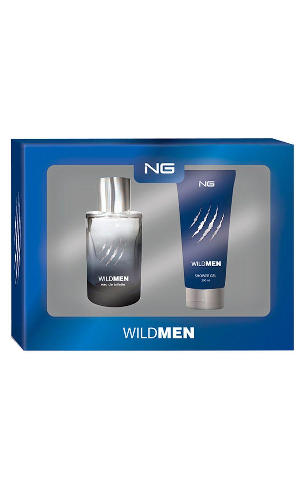 Foto 1 - NG Parfums Wild Men Kit - Eau de Toilette + Gel de Banho - Kit