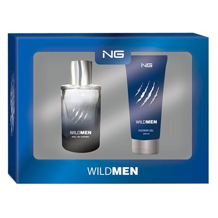 NG Parfums Wild Men Kit - Eau de Toilette + Gel de Banho - Kit