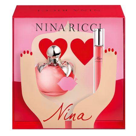 Nina Ricci Nina Kit - Eau de Toilette + Roll On - Kit