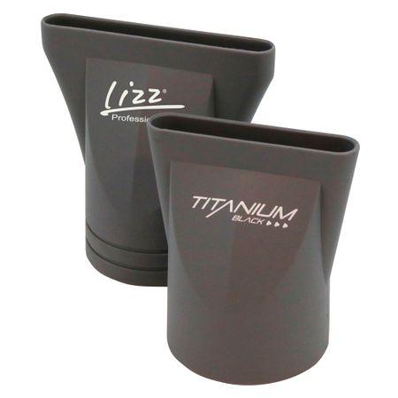 41a3a7eef Secador Lizz Professional - Titanium Black - 127V