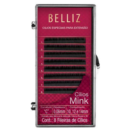Cílios para Alongamento Belliz - Mink C 006 Mix - 1 Un