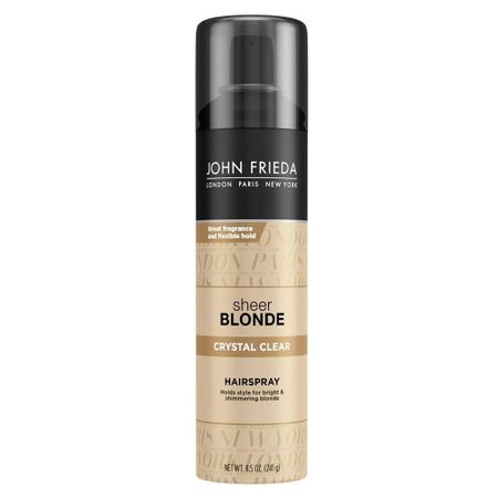 John Frieda Sheer Blonde Crystal Clear Holds Finishes - Spray Fixador - 240g