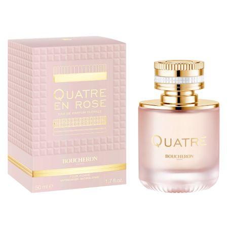 Quatre en Rose Boucheron - Perfume Feminino - Eau de Parfum - 50ml