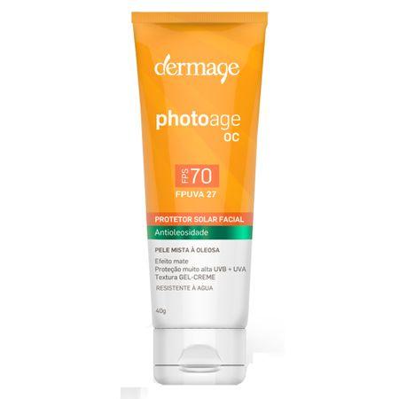 Protetor Solar Dermage - Photoage OC FPS 70 - 40g