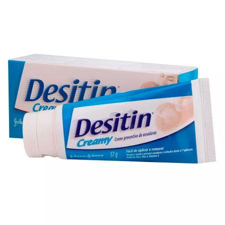 Kit Desitin Creme Preventivo de Assaduras - Creamy Aloe - Kit