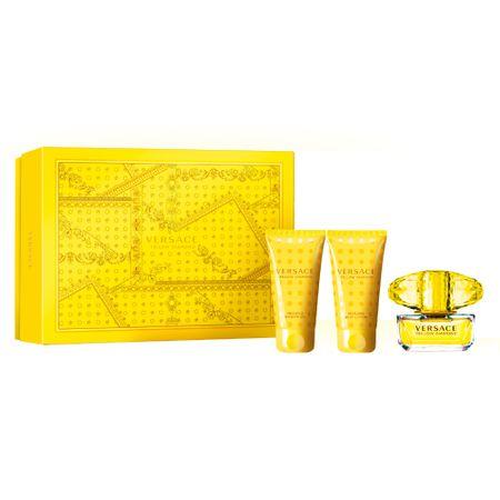 Versace Yellow Diamond Kit - Eau de Toilette  + Loção Corporal + Gel de Banho -...