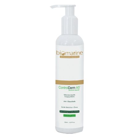 Sabonete Líquido Facial Biomarine - Control Derm - 150ml