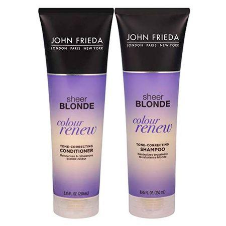 Kit Shampoo + Condicionador John Frieda Sheer Blonde Color Renew Tone...