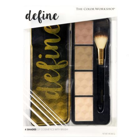 Paleta de Contorno e Iluminador Markwins - Define Contour and Highlight - 1 Un
