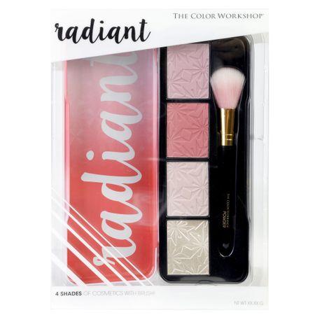 Estojo de Maquiagem Markwins - Radiant Iluminating and Blush - 1 Un