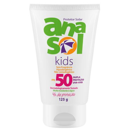 Protetor Solar Kids FPS50 Anasol - 125ml