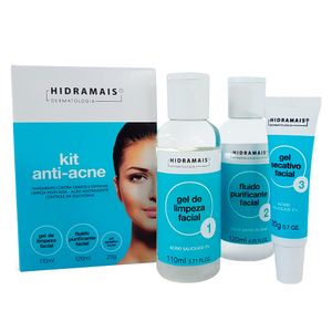 195c71c5871 Hidramais Anti-Acne Kit - Gel de Limpeza + Fluido + Gel Secativo