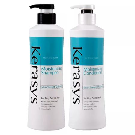 Kerasys Moisturizing Kit - Shampoo + Condicionador - Kit