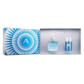 6a48b0e4d6 ... Azzaro Chrome Azzaro - Masculino - Eau de Toilette - Perfume +  Desodorante - Kit ...