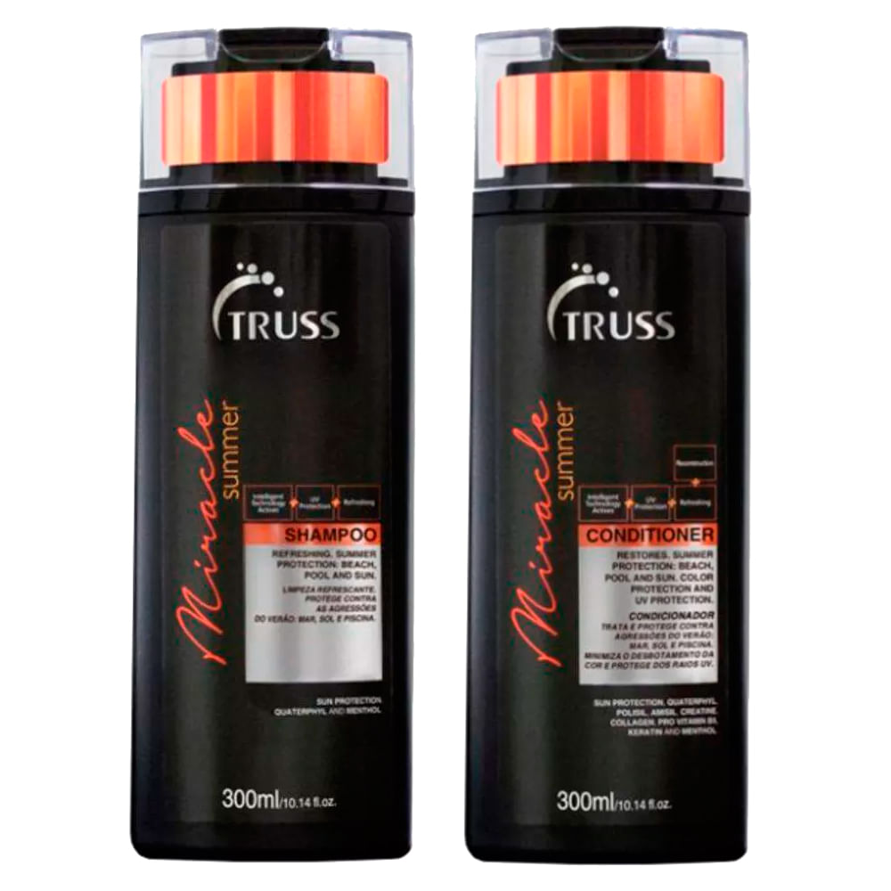 Truss Professional Miracle Summer Kit - Sh + Cond