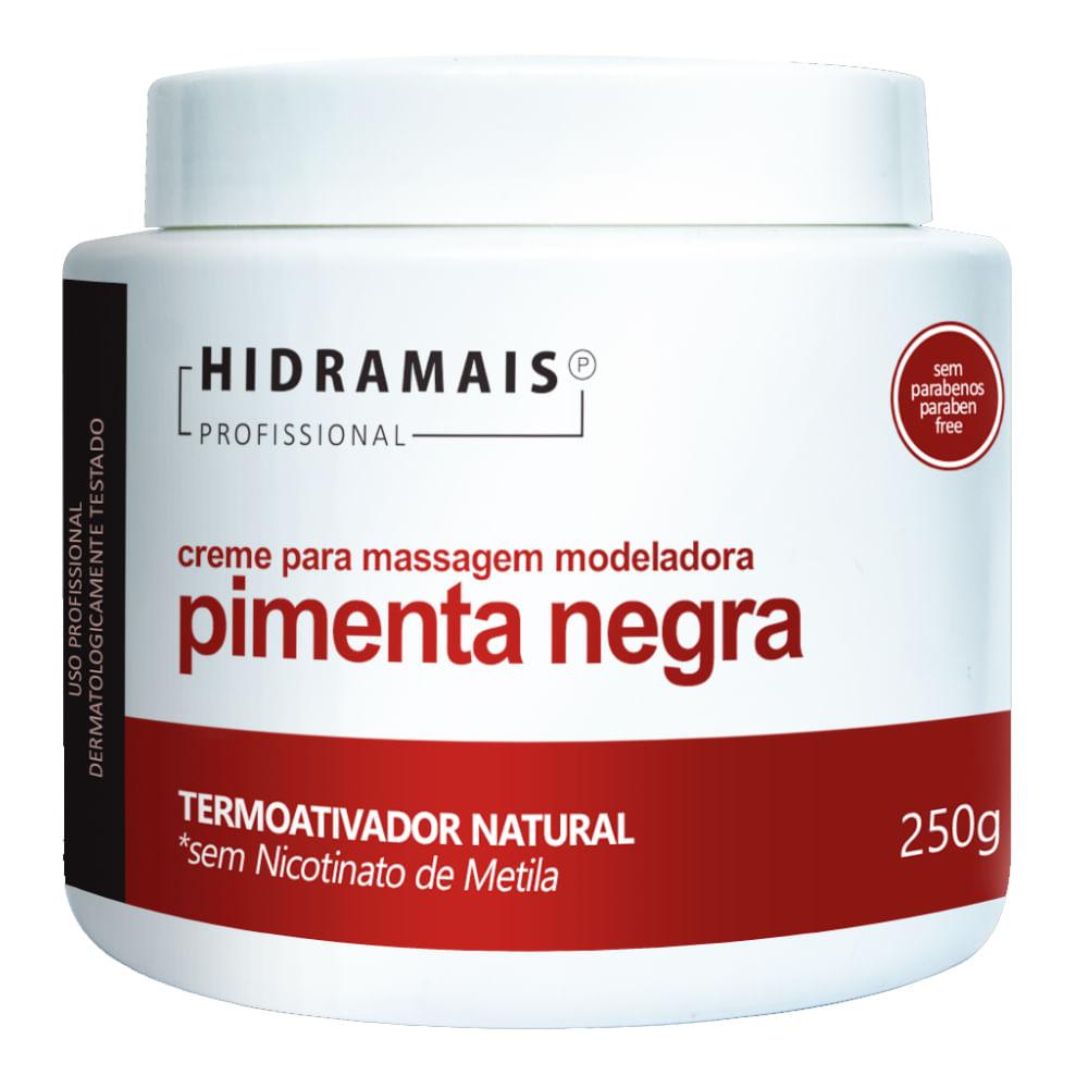 Creme Termoativado Hidramais - Pimenta Negra