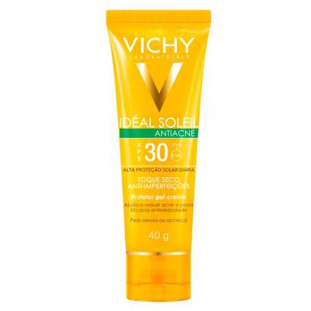 Idéal Soleil Antiacne FPS 30 Vichy - Protetor Solar - 40g