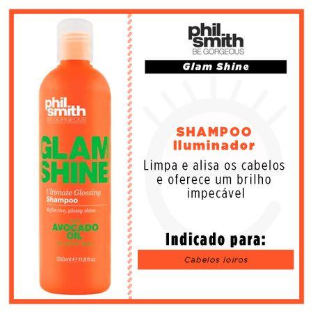 Phil Smith Glam Shine - Shampoo Iluminador - 350ml