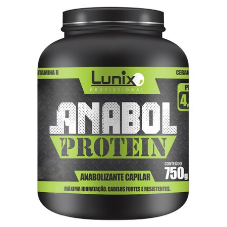 Lunix Anabol Protein - Máscara Hidratante - 750g