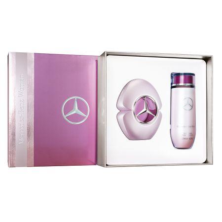 Kit Woman Mercedes Benz Eau de Parfum - Perfume Feminino + Loção Corporal - Kit