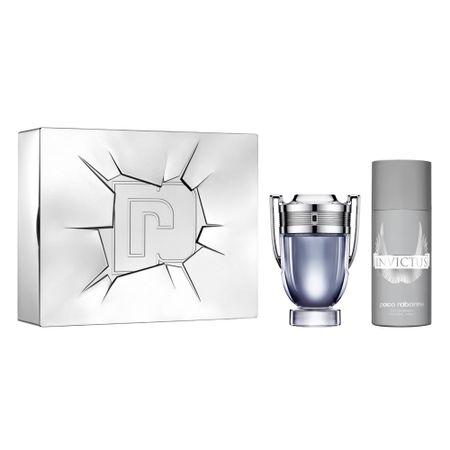 Paco Rabanne Invictus Kit - Perfume + Desodorante - Kit